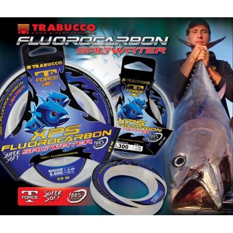 FLUOROCARBON TRABUCCO XPS SALTWATER 25 MT