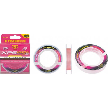 FLUOROCARBON TRABUCCO ULTRA STRONG FC 403 PINK SALTWATER