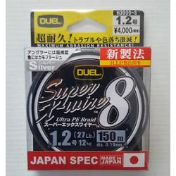 DUEL SUPER X-WIRE 8 150 MT