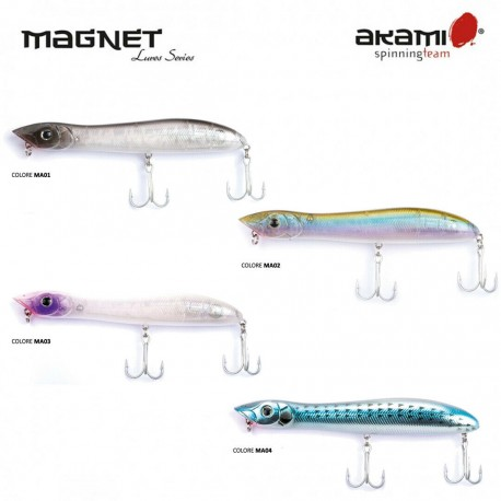 AKAMI MAGNET 100 MM 25 GR FLOATING