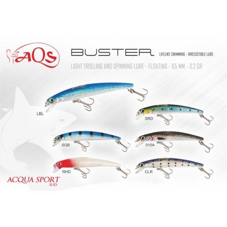 ACQUASPORT BUSTER 65 MM 3,2 GR SUSPENDING