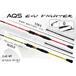 CANNA EGI FIGHTER AQS YELLOW  2,40 MT 10-125 GR